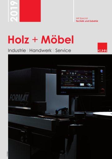 Titelseite Holz + Möbel 2019