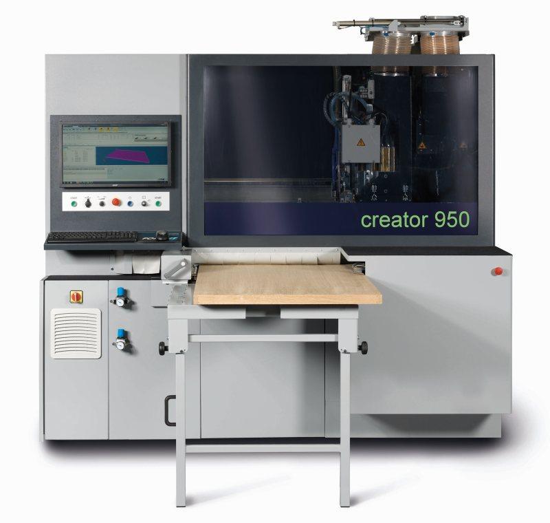 Das neue Durchlauf-CNC-Bearbeitungszentrum »Format-4 creator 950« ist besonders gut als Einstiegsmaschine geeignet. Bild: Felder