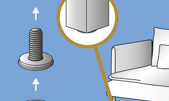 Der neue bodenschonende Möbel-Verstellfuß von Wagner System. Bild: Wagner System