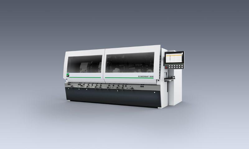 Die neue Hobel- und Kehlmaschine »Powermat 3000« von Weinig ist eine Lösung für hohe Ansprüche. Bild: Weinig