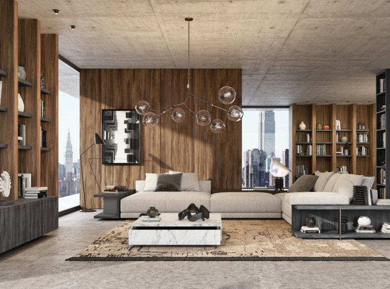 Die neue »Innovus«-Kollektion 2019 von Sonae Arauco passt zu jeder Lebenslage. Bild: Sonae Arauco