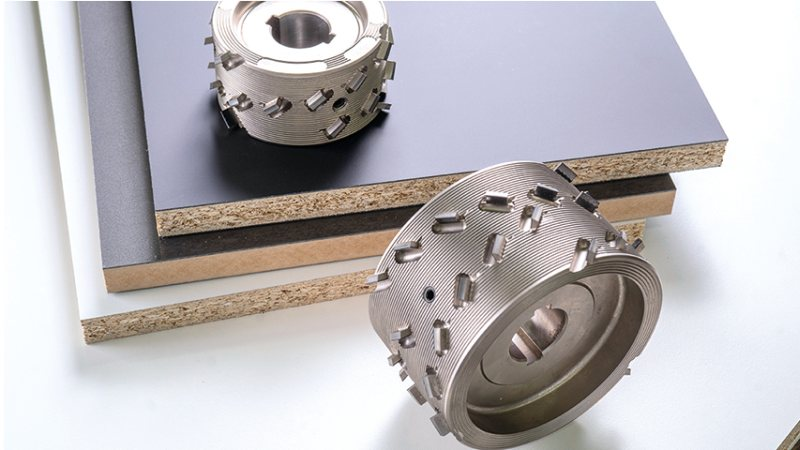 Der neue Fügefräser zur Bearbeitung vielseitiger Materialien. Bild: Leuco
