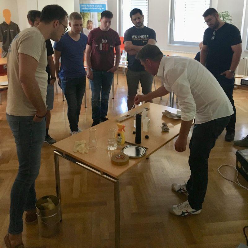 In Workshops und Vorträgen bekamen die Teilnehmer exklusive Einblicke in die neuesten technischen Entwicklungen. Bild: Pallmann