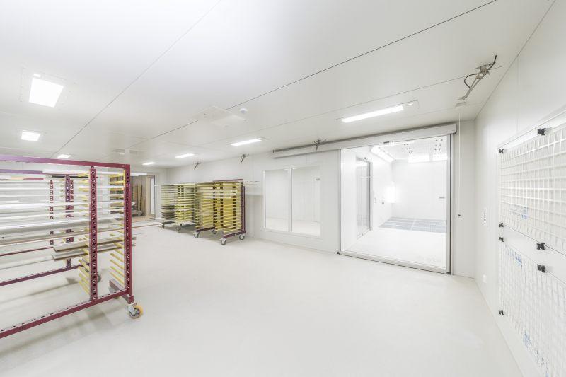 Mittels funktionaler Lüftung können im Trockenraum die Luftmenge und die Temperatur variabel gesteuert werden. Bild: Scheuch Ligno