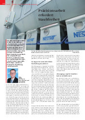 Nestro: Anwenderbericht Absaugung