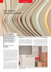 Titelthema 2020: Surteco - Das Kanten-Sofort-Programm