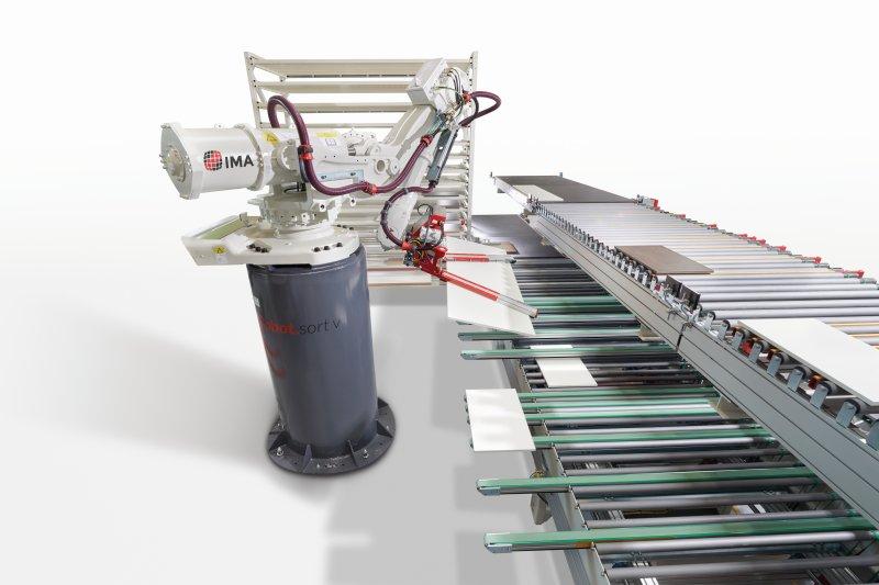Mit der Robotersortiertechnik arbeitet das neue Werk vollautomatisch. Bild: Reiss
