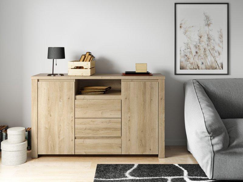 Das Dekor »Boudica Oak« ist durch seine sehr feine Holzmaserung und Wachstumsmarken der passende Begleiter für von der Natur inspirierte Räume. Bild: Impress