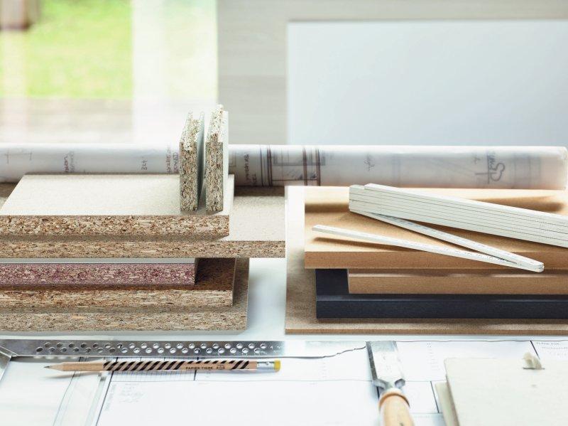 Die neuen Grenzwerte für Formaldehydemissionen gelten für alle Holzwerkstoffplatten. Bild: Pfleiderer