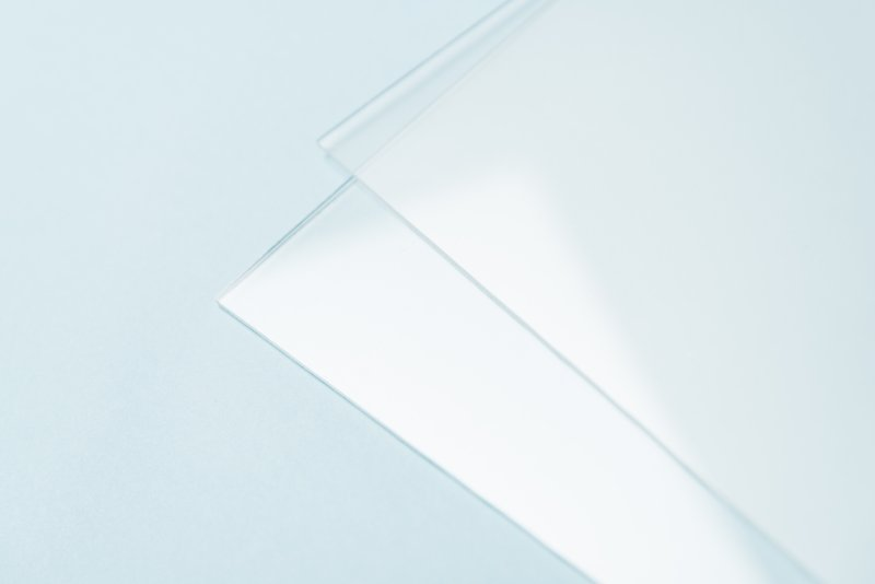 Die transparente Version »Glass clear«. Bild: Senosan