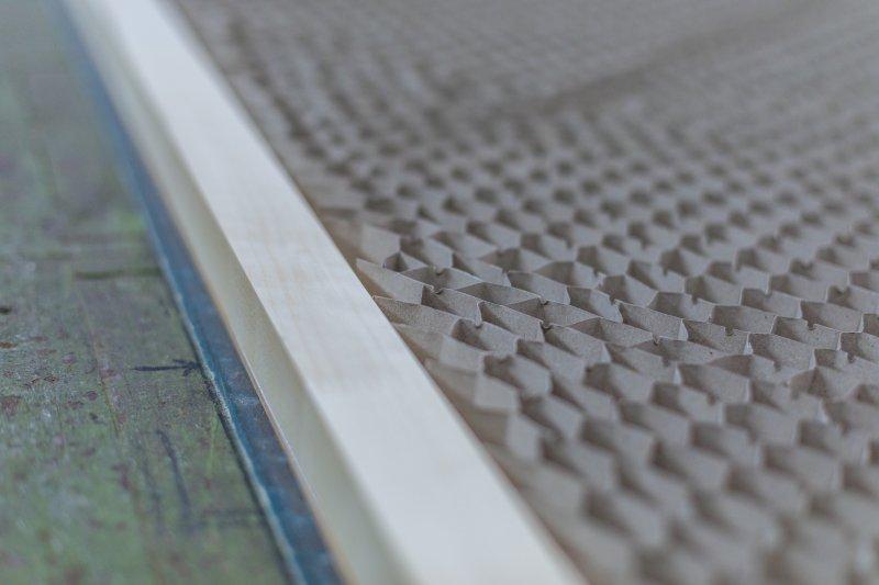 Der Papierwabenkern kann flexibel geplant und gearbeitet werden. Bild: Vomo