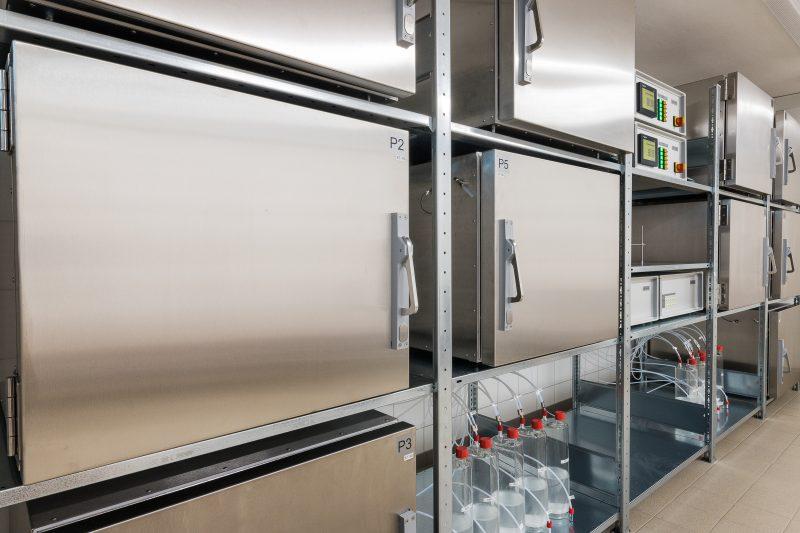 Die neuen Prüfkammern erweitern die Prüfkapazität (Bild: EPH).