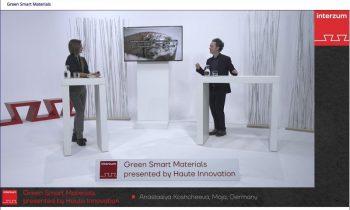 Die »interzum@home« präsentierte auf drei virtuellen Bühnen Trendthemen (Bild: Koelnmesse).